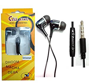 Shopkeeda Stereo Sound Handsfree Earphone For Zen Ultrafone Powermax 1