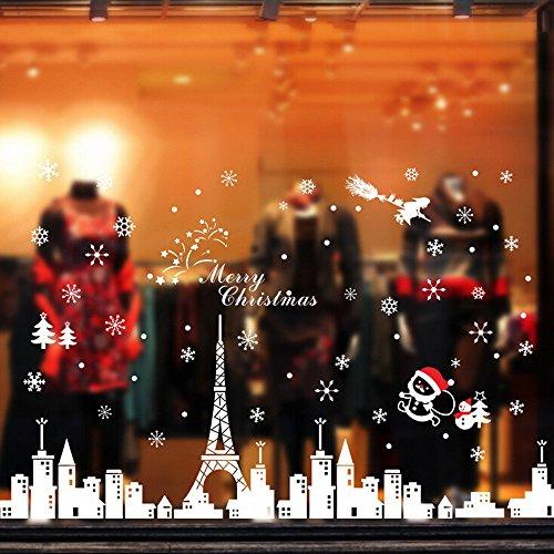 zaru-snow-city-cabina-de-navidad-la-decoracion-del-hogar-de-vinilo-ventana-pegatinas-de-pared-decora