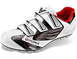 Vittoria V Epic Cycling Shoes, White, 42 EU/8.5 D US