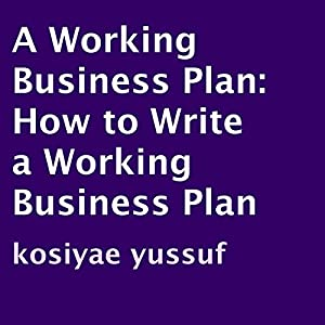 A Working Business Plan Audiobook
