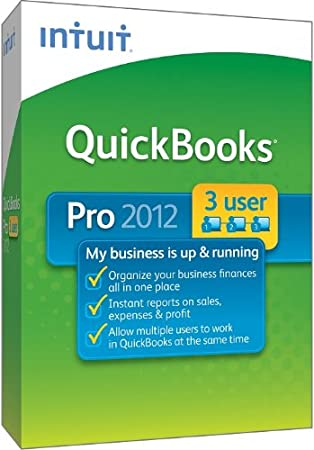 QuickBooks Pro 3-User 2012 [OLD VERSION]