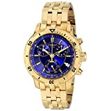 Tissot PRS-200 Men's Blue Chronograph Dial Yellow Gold Watch T067.417.33.041.00