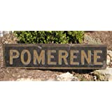 POMERENE, ARIZONA - City Rustic Hand Painted Wooden Sign - 9.25 X 48 Inches