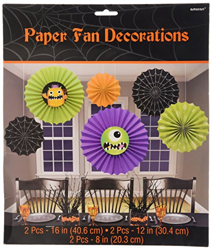Halloween Hanging Decorations (6-Pack) - 1