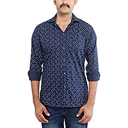 Oshano Men's Colorful Cotton Shirt