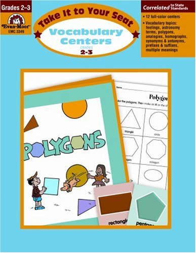 Take It to Your Seat Vocabulary Centers, Grades 2-3 PDF