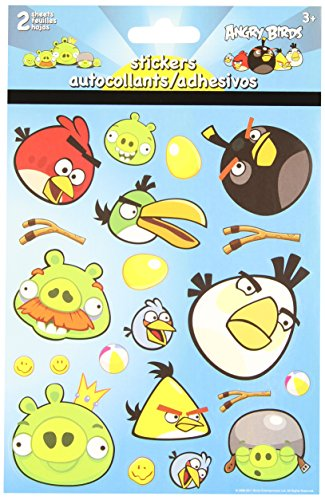 Angry Birds Foldover Stickers - 1