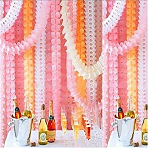 ShungHO Birthday Wedding Party Paper Garland Hang Tissue Clover Strings Decor from ShungHO