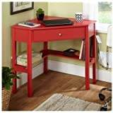 Simple Living Red Corner Desk