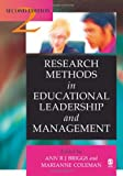 Research methods in educational leadership and management /