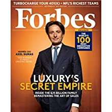 Forbes, August 25, 2014  by Forbes Narrated by Ken Borgers