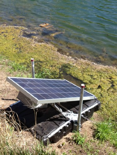 Solar Powered Pumps For Ponds Pond Aerator Is Solar