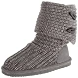 BEARPAW Knit Tall Youth Boot (Little Kid/Big Kid)