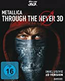 DVD - METALLICA - Through the Never (limited 2-Disc Edition, Steelbook) [3D Blu-ray inkl. 2D]