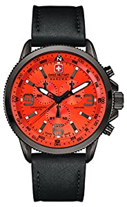 Swiss Military 6-4224.30.079 - Reloj de pulsera hombre, piel, color negro