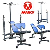 Marcy MCB880m Weight Bench With Squat Rack & Lat Pulldownby Marcy