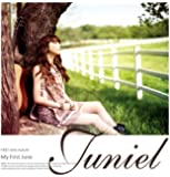 Juniel(ジュニエル)1st Mini Album - My First June (韓国盤)