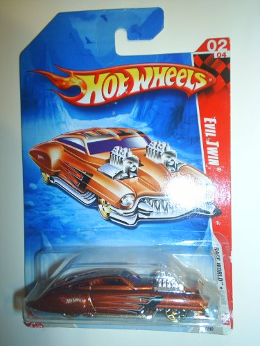 "Hot Wheels Evil Twin ""Race World Cave"" #206/#2 (2010)"