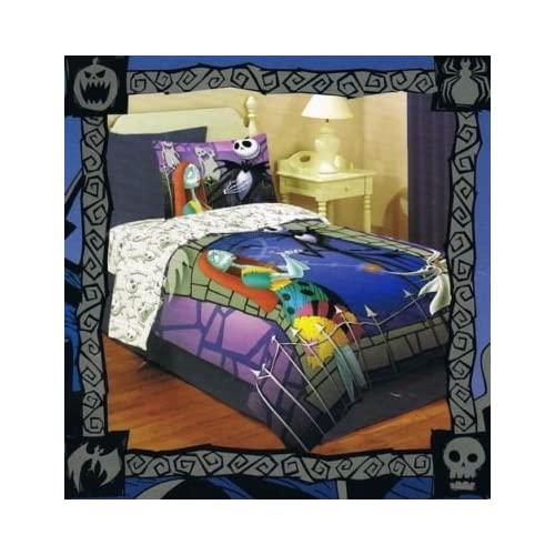 nightmare before christmas jack and sally comforter