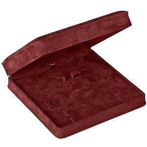 VALBY LARGE SET BOX - BURGUNDY LARGE SET VALBY