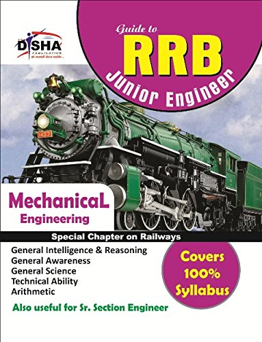 Guide to RRB Junior Engineer - Mechanical