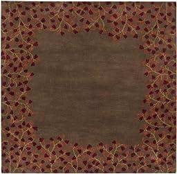 Surya Athena Chocolate-Ruby 8\' Contemporary Area Rug