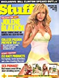 Stuff Magazine September, 2004 Jolene Blalock Pictorial and Cover-also: Bill Clinton Interview
