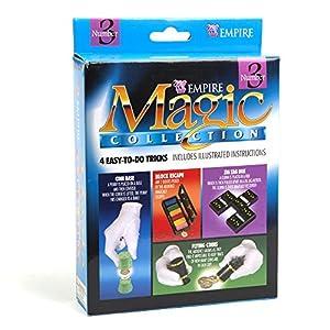 Block Escape, Flying Coins & More Magic Tricks Kit