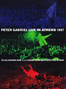 Peter Gabriel: Live in Athens 1987 + Play