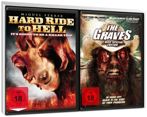 FSK 18 Spar-Set 3DVDs Zombie & Co : Hard Ride To Hell + The Graves (2DVD Special Edition)