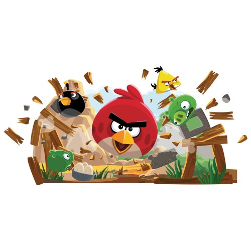 Angry Birds Bedding 4564 front