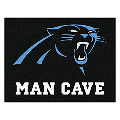 FANMATS 14276 NFL Carolina Panthers Nylon Universal Man Cave All-Star Mat