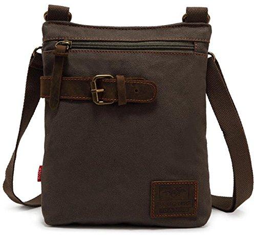 American Shield Vintage Casual Canvas Messenger Bag Cross Body Rucksack Unisex.Ali018-1