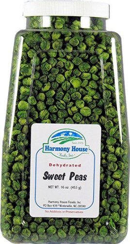Harmony House Foods Dried Peas, whole (16 oz,