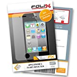 FoliX FX ANTIREFLEX antireflective screen protector for Apple iPhone 4 / iPhone4   incl. front  and rearside! Anti glare screen protection! handhelds pdas