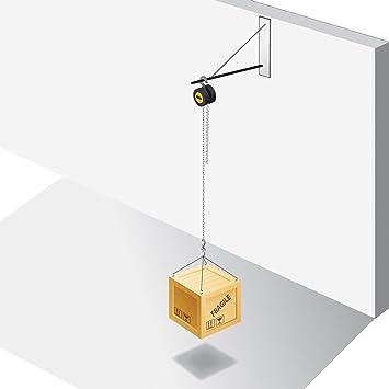 Fartools ch 2t palan palan chaine charge maxi 2000 kg kg noir bricolage z20 Home palan