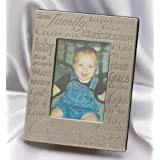 Small Fry Design Baptismal Picture Frame