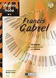 Piano solo n�5 : Francis Cabrel