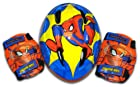 Spiderman Toddler Helmet with Knee and Elbow Pads