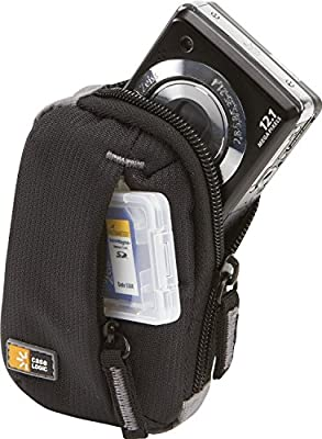 Case Logic Ultra Compact Camera Case for Canon PowerShot ELPH 160 with Storage