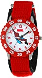 Marvel Comics Kids W000104 Spider-Man Stainless Steel Time Teacher Watch