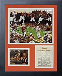 Legends Never Die Texas Longhorn Greats Framed Photo Collage, 11 by 14-Inch