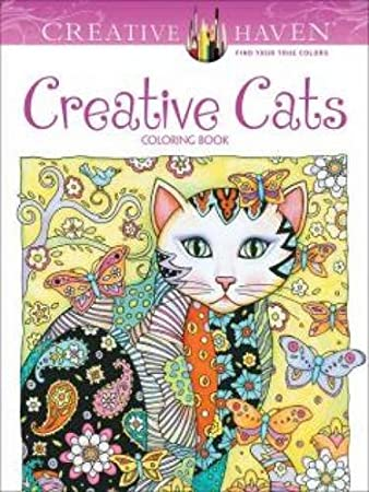 Creative Haven Creative Cats Coloring Book (Adult Coloring) ISBN-13 9780486789644