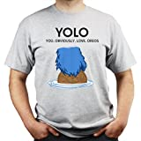 YOLO You Obviously Love Oreos Monster of Cookies T-shirt by FretShirt