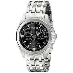 Tissot T0084174406100 PRC 100 Chronograph Men's Watch (Black)