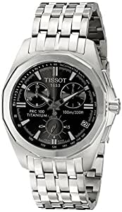 Tissot Men's T0084174406100 PRC 100 Chronograph Watch