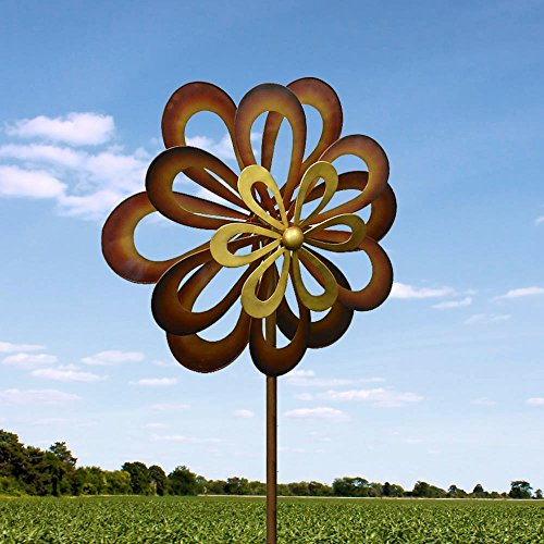 Dancing Daisy Windmill Wind Spinner 7 Feet