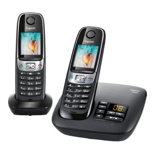Gigaset C620A Duo Téléphone sans Fil -Répondeur 2 Combinés Noir
