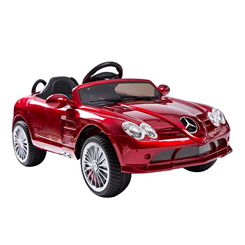 Aosom 52-0050 Mercedes-Benz 722S Kids Electric Ride-on Toy Car with Parent Remote Control, 12V, Red (Mercedes Benz Kids Electric Car compare prices)