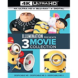 Illumination Presents: 3-Movie Collection [4K Ultra HD + Blu-ray]